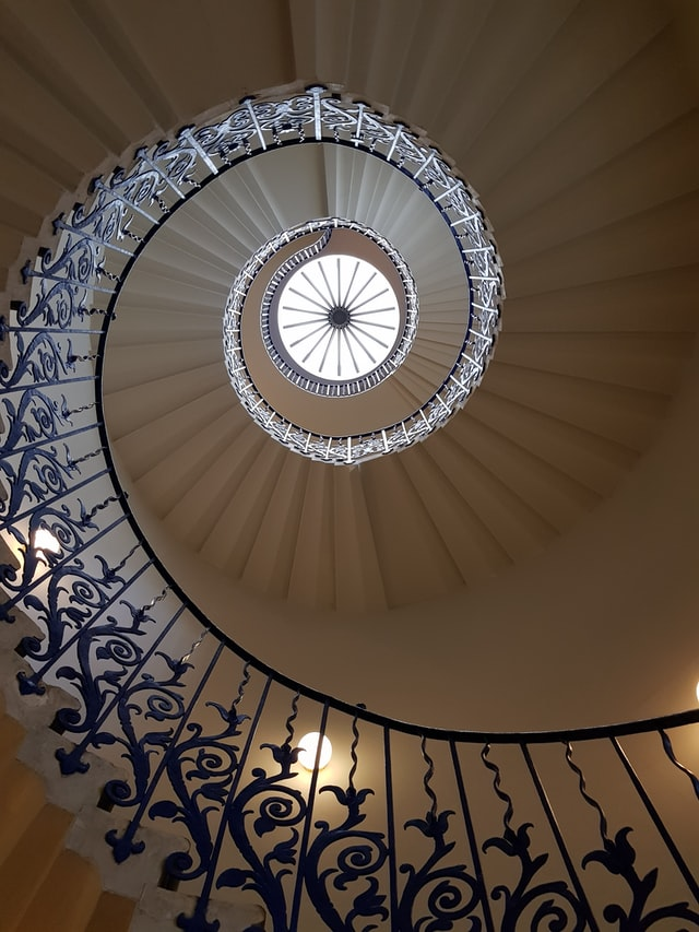 queen house stairs